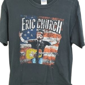 Eric Church Blood Sweat & Beers Concert Tshirt